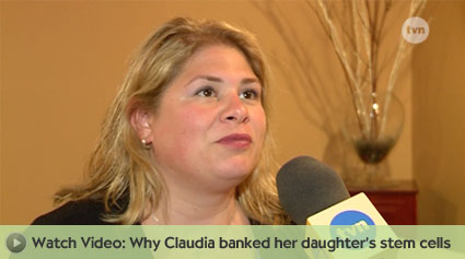 Claudia banked for her daughter