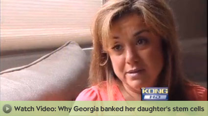 Georgia banked for her daughter